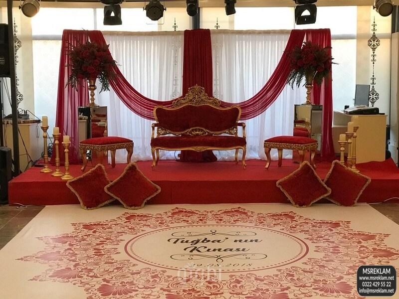 düğün salonu pist kaplama